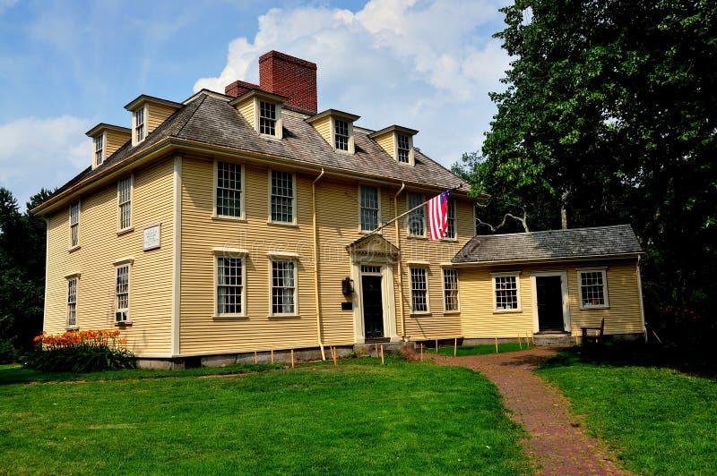 Lexington, mA : La taverne 1709 de Buckman photographie stock libre de droits