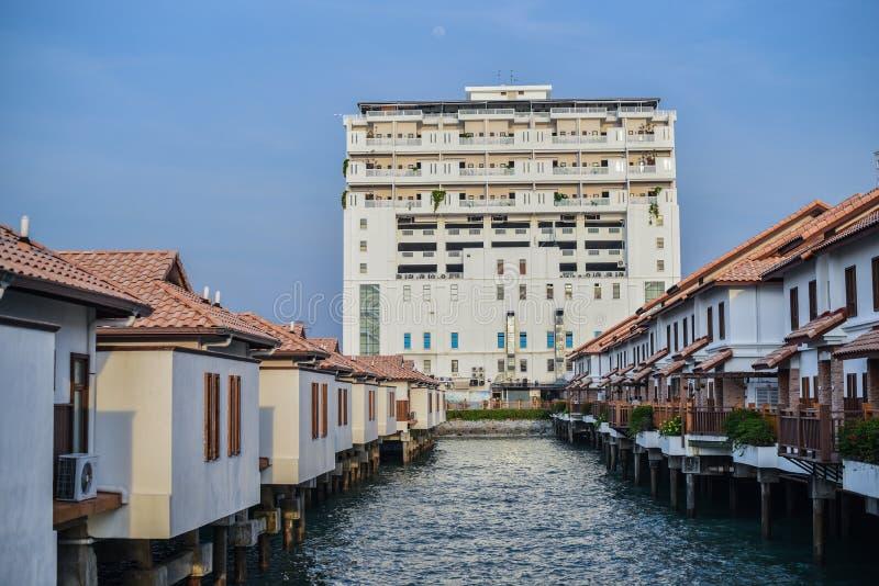 Lexis magnífico del hotel en Negeri Sembilan Malasia imagenes de archivo