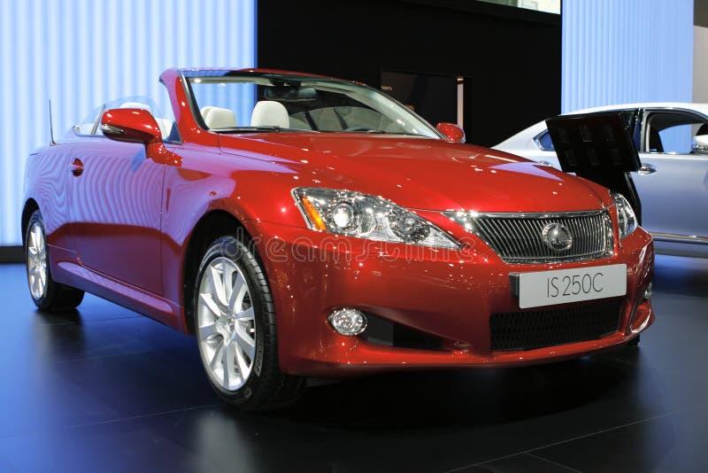 Lexus IS 250 C stock image