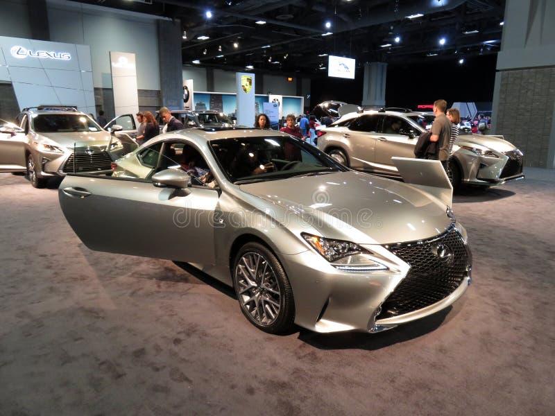 Lexus Automobiles argenté images libres de droits