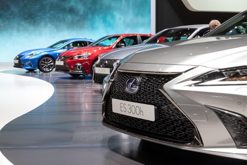 Lexus-Autos lizenzfreie stockfotos