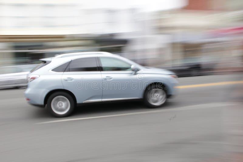 Lexus in Bewegung lizenzfreie stockbilder