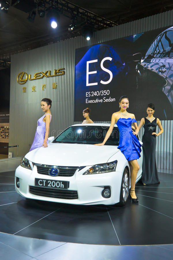 Download Lexus CT200h And Model Editorial Stock Image - Image: 21843809