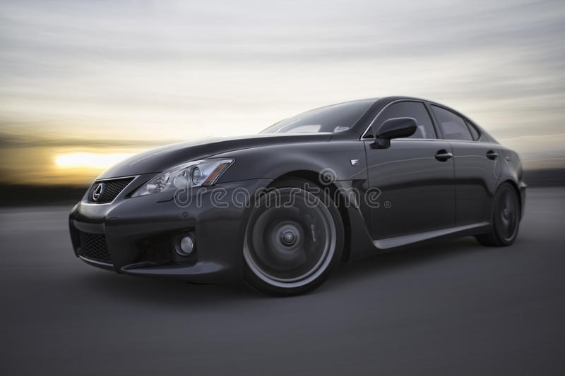 Lexus IS-F stockfotografie
