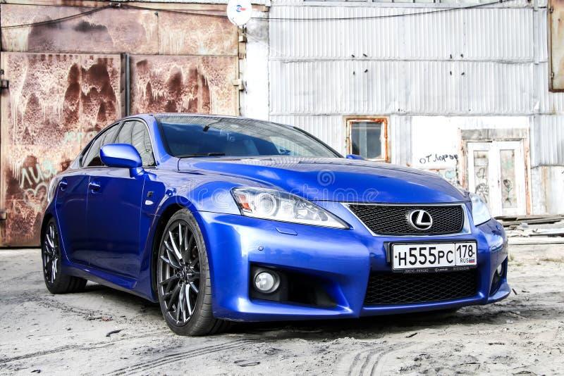 Lexus IS F royalty-vrije stock afbeelding
