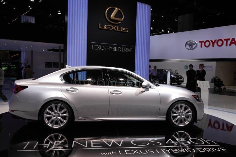 Lexus GS450h Hybrid Drive Editorial Stock Photo