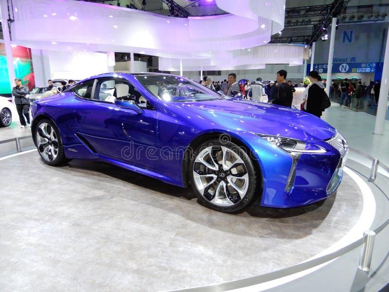 Lexus LC 500h RV стоковое изображение rf