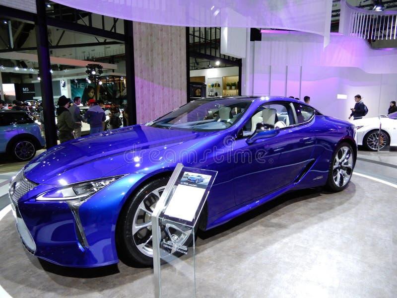 Lexus LC 500h RV стоковые изображения