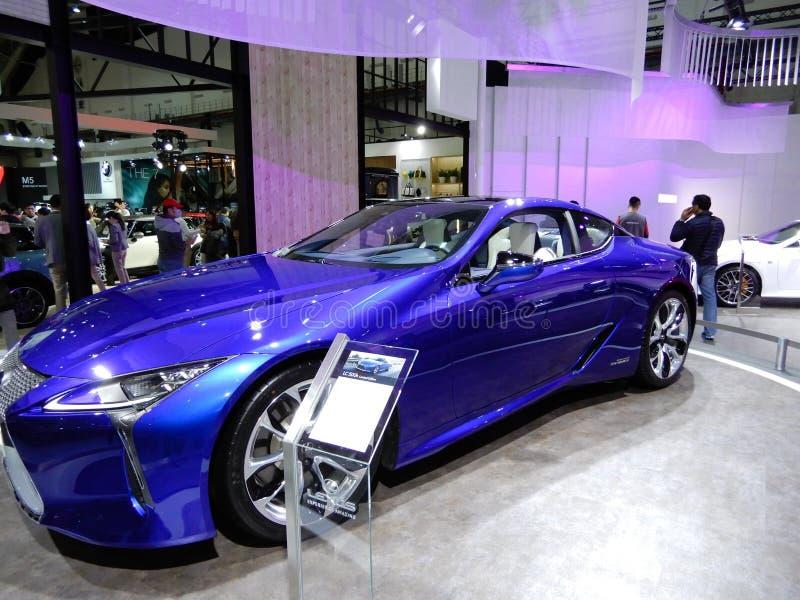 Lexus LC 500h RV royaltyfri foto