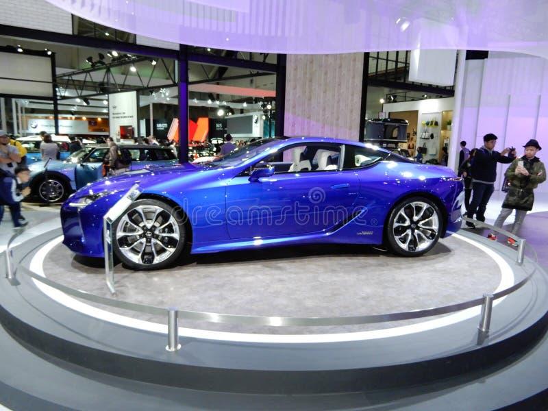 Lexus LC 500h RV стоковая фотография