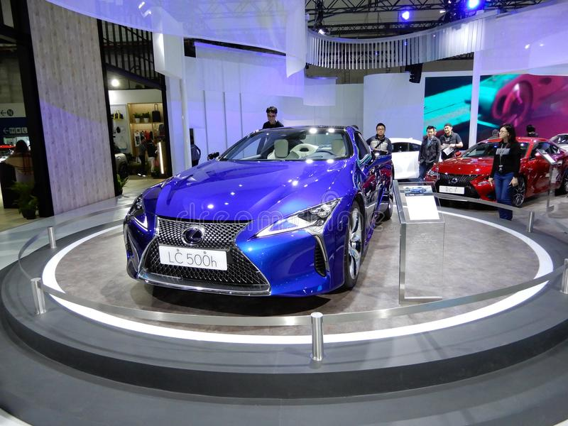 Lexus LC 500h RV royalty free stock photography