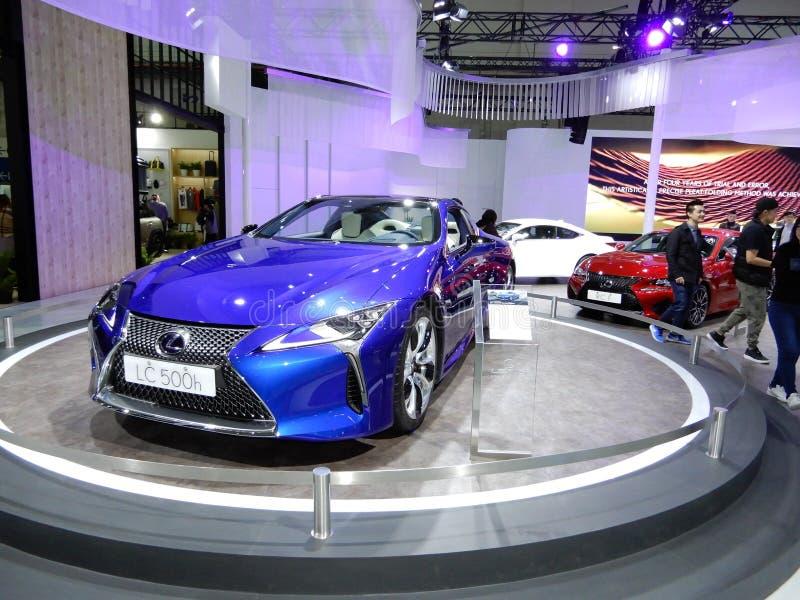 Lexus LC 500h RV stock photo