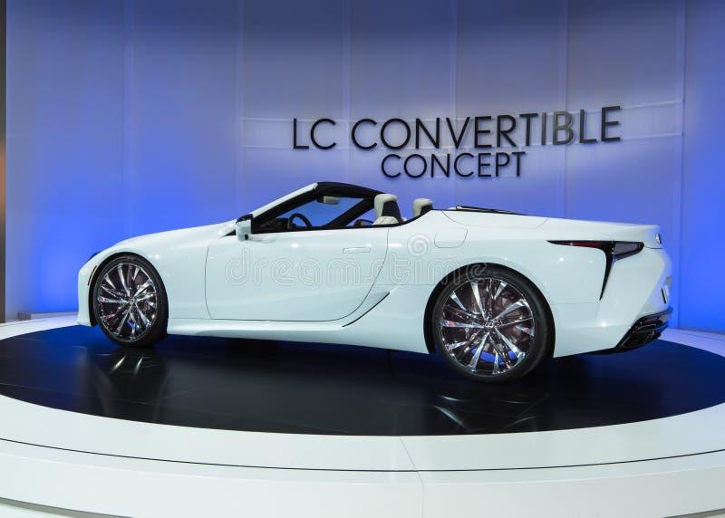 Lexus LC kabrioletu pojęcie fotografia stock