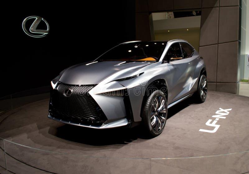 Lexus LF-NX Genève 2014 image libre de droits