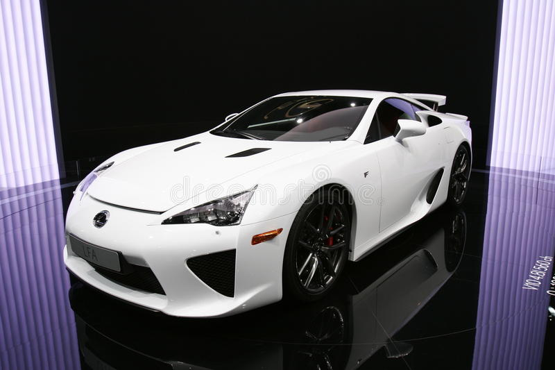 Download Lexus lfa sport editorial stock image. Image of auto - 16314769