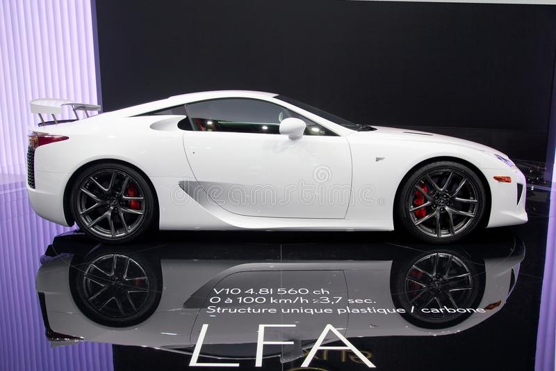 Download Lexus LFA V10 Editorial Stock Image. Image Of Electric   16567159