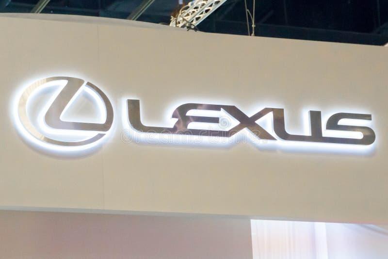 Lexus logo royaltyfri fotografi