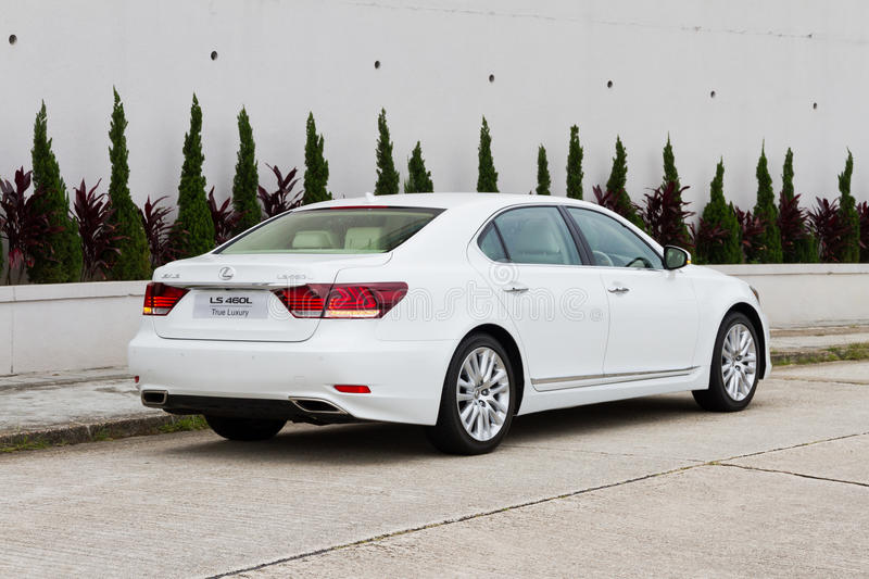 Lexus Ls 460l Saloon Car Editorial Stock Photo Image Of