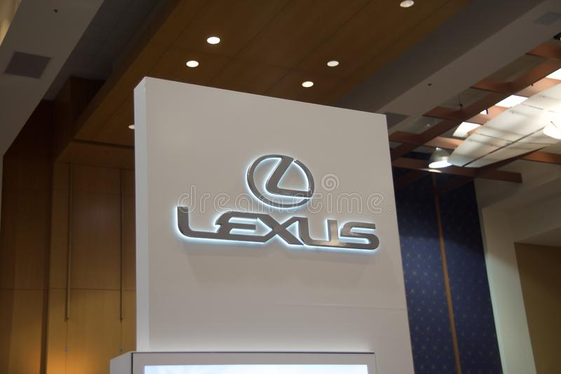 Lexus Motor Company royalty free stock photos