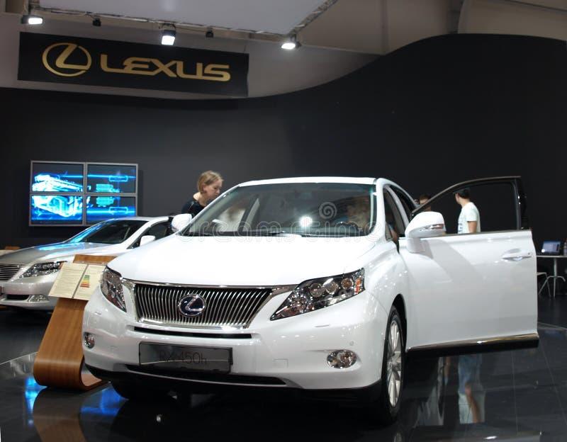 Lexus RX450h stock image