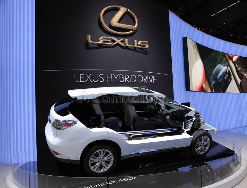 Download Lexus RX450h Hybrid Drive editorial photo. Image of ausstellung - 21310991