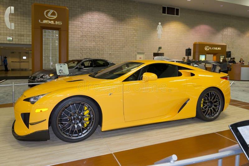 Lexus Sports Car fotografering för bildbyråer