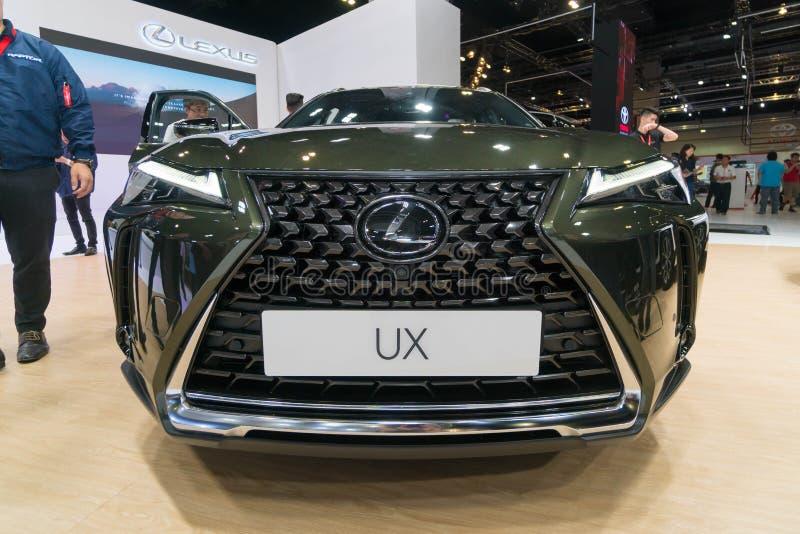 Lexus UX200 em Kuala Lumpur Motor Show fotos de stock