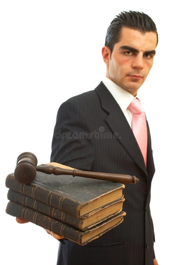 Ley de asunto foto de archivo