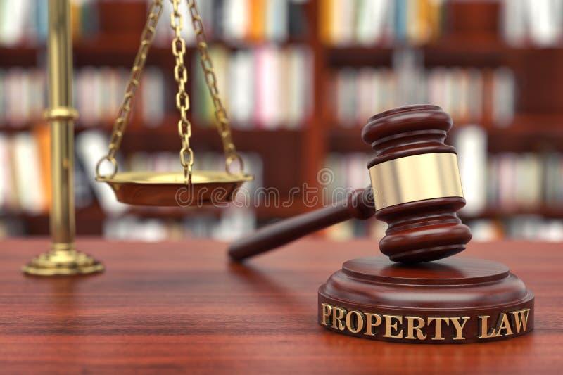 Ley de la propiedad imagenes de archivo