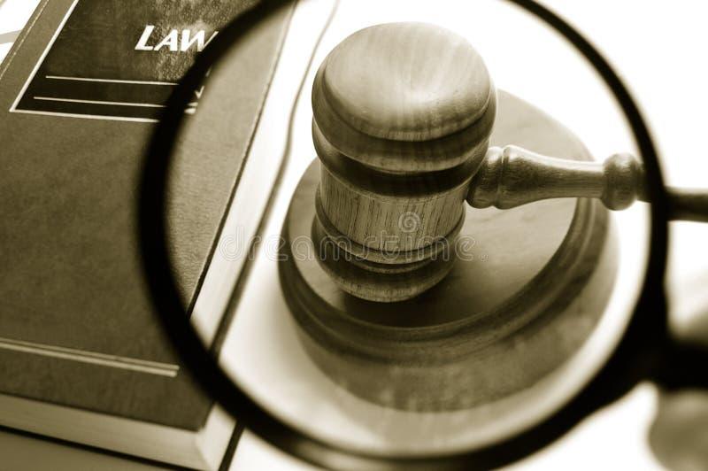 Ley del hallazgo imagen de archivo