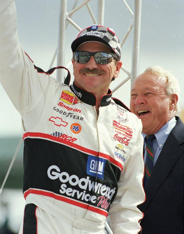Leyenda Dale Earnhardt de NASCAR imagenes de archivo