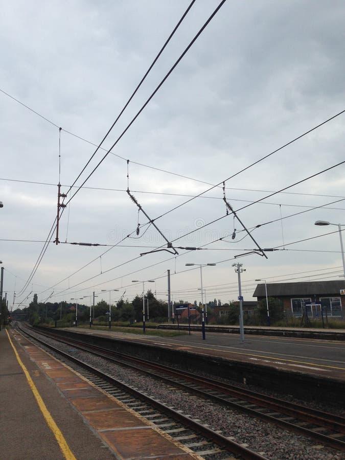 Leyland Railway station stock photo