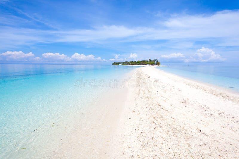 Leyte Philippines d'île de Kalanggaman images stock