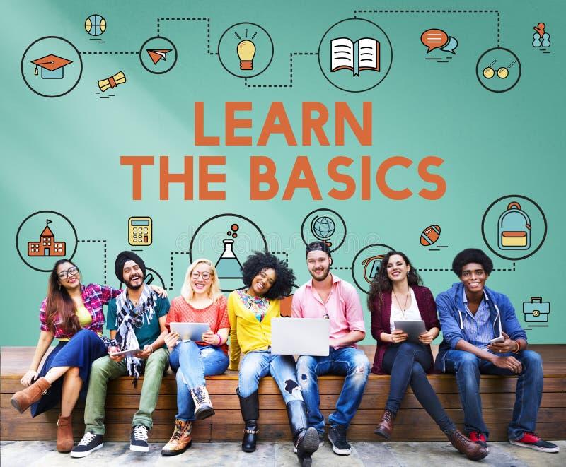 Lezione che impara concetto di istruzione di conoscenza di alfabetizzazione immagine stock libera da diritti