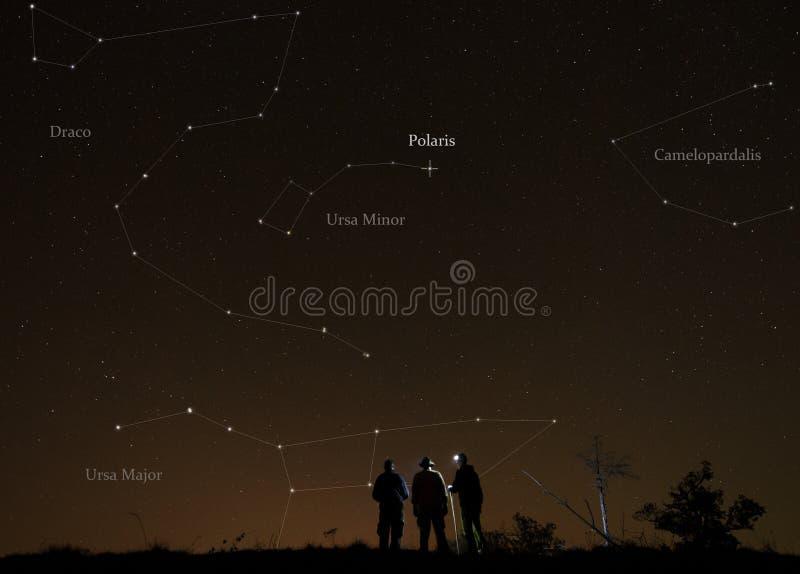 Lezione di astronomia immagine stock