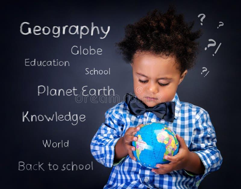 Lezione di geografia immagini stock