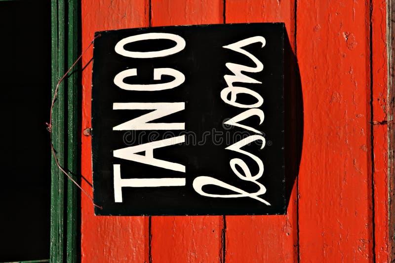 Lezioni di tango immagini stock libere da diritti