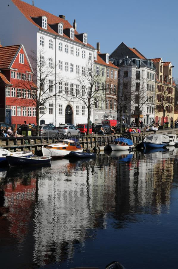 LFE AT CHRISTIANSHAVN CANAL stock photography