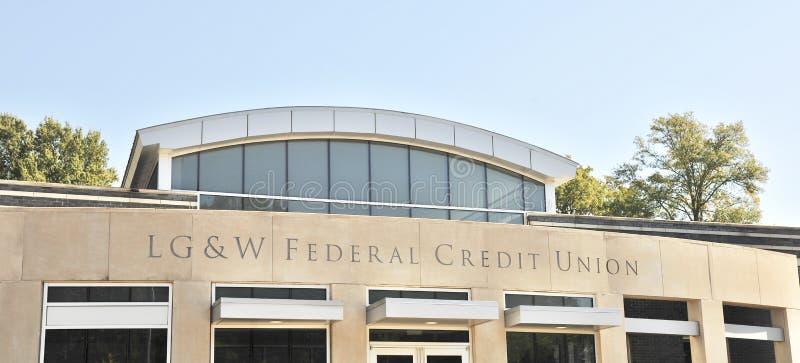 LG&W Credit Union Memphis, TN imagem de stock
