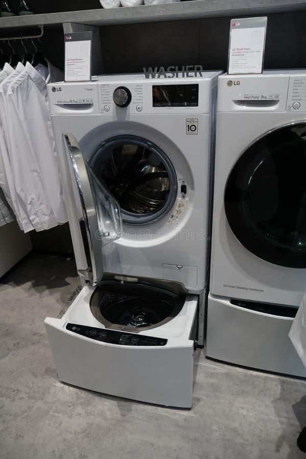 LG-wasmachine royalty-vrije stock afbeeldingen