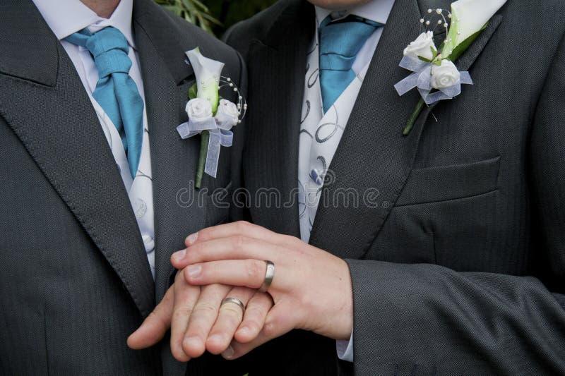 LGBT ślub zdjęcie royalty free