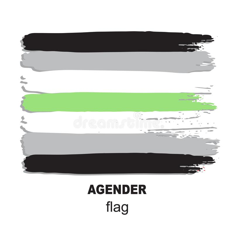 Lgbt σημαία-12 απεικόνιση αποθεμάτων