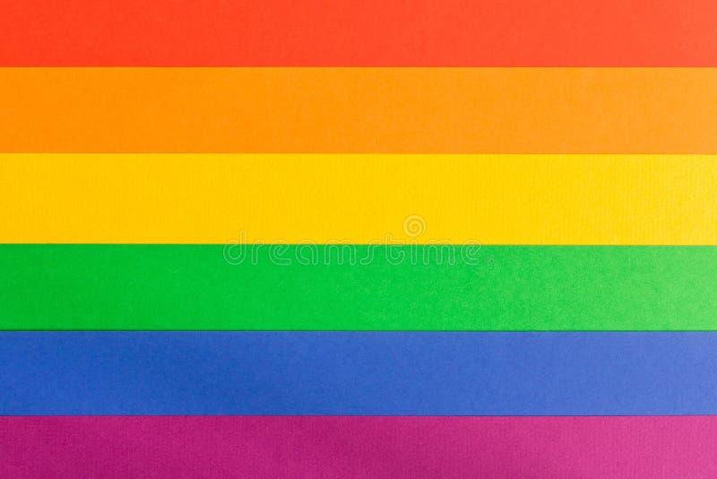 LGBT красит абстрактную предпосылку Ультрамодные цвета резюмируют предпосылку стоковое изображение rf