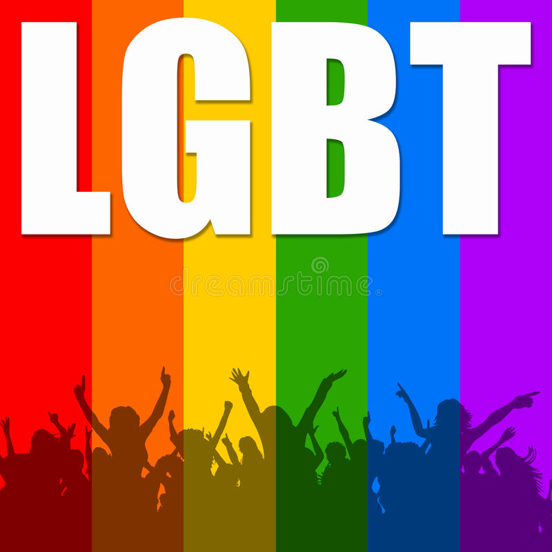 LGBT 向量例证