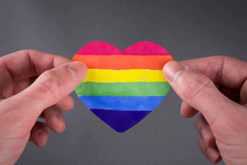LGBT-dagconcept stock afbeeldingen