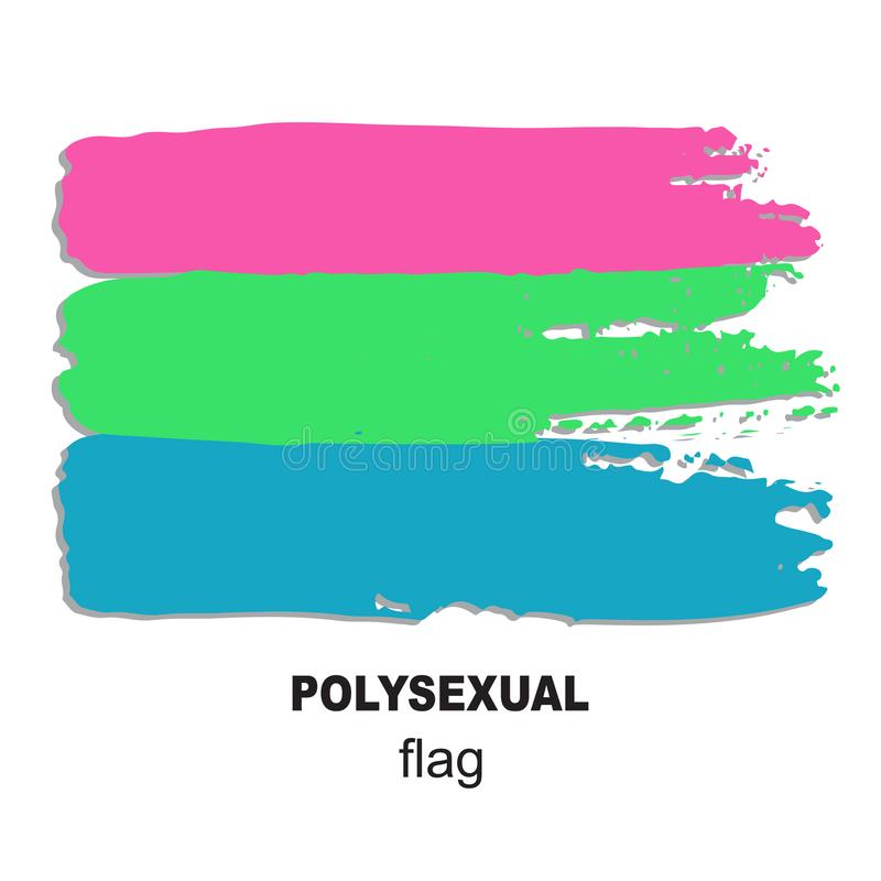 Lgbt flag-04 illustration stock
