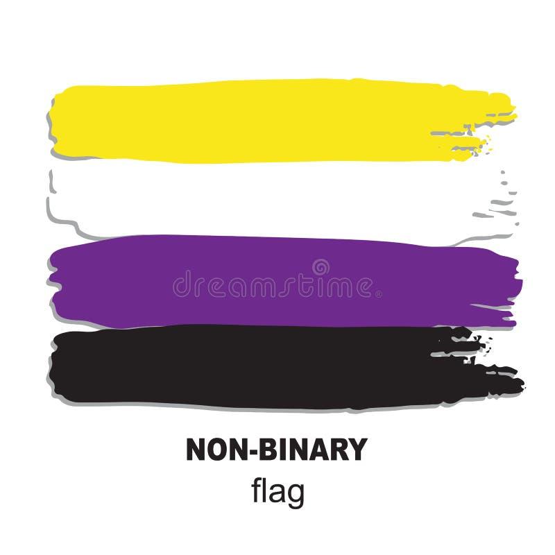 Lgbt flag-11 royaltyfri illustrationer