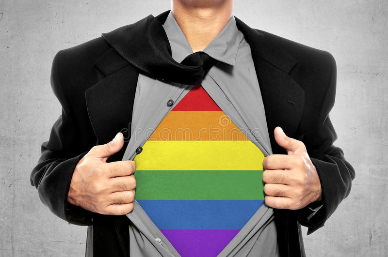 LGBT Freedom Conceptual royalty free stock image