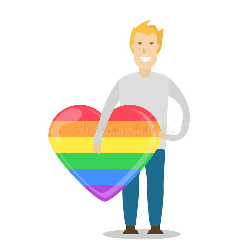 LGBT-gemenskap royaltyfri illustrationer