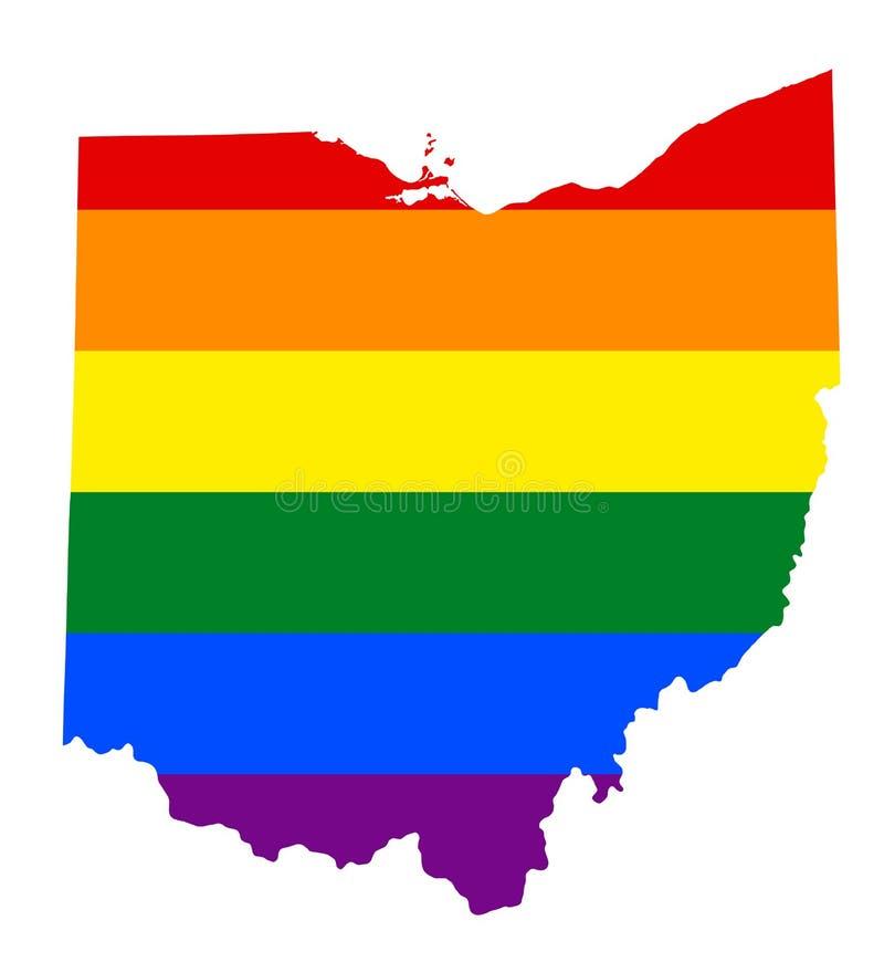 LGBT lesbian, homoseksualisty, biseksualnej i transgender dumy flaga, ilustracji